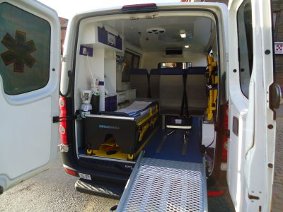 Crafter ambulancia palencia