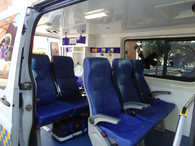 Crafter ambulancia León